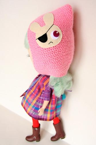 MforM Pink Pirate Bunny Hoodie