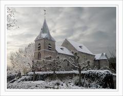Enchanted Church (Loe Giesen) Tags: limburg swalmen asselt sintdionysiuskerk nikoncoolpixp80 rozenkerkje explore173jan52010 loegiesen