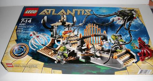 2010 LEGO Atlantis 8061 Gateway of the Squid
