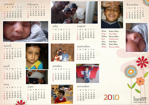 Facebook App/Calendar from iTasveer