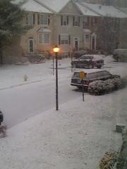 Surprise snow!
