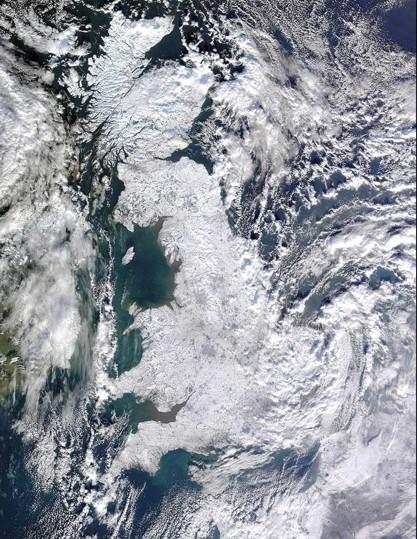 Ilhas britânicas geladas (10-1-2010)
