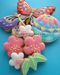 Japanese style cookies (JILL's Sugar Collection) Tags: food cookies japan decoration sugar icing piping picnik foodcolor royalicing sugarcraft