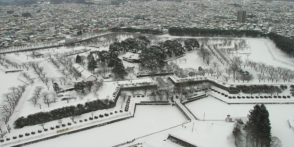 五城郭冬景