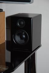 The Superb Audioengine A2's (Jordanhill School D&T Dept) Tags: speakers hifi woofer tweeter mdf kevlar audioengine ipoddock audiophile activespeakers