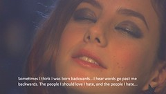 Born Backwards. (froussecarton) Tags: tv still skins subtitles effy stonem