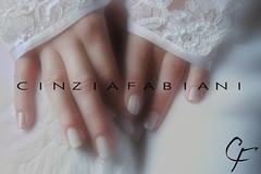 wedding nails (cinzia fabiani) Tags: wedding colore nail mani nails sposa tuscan unghie nastro ricamo weddingtuscanysiena