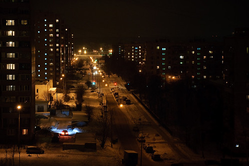 Kamchatskaya night street