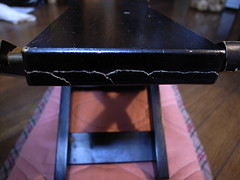Mended footrest