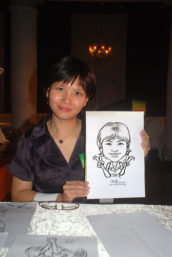 Caricature live sketching for GSK - 3