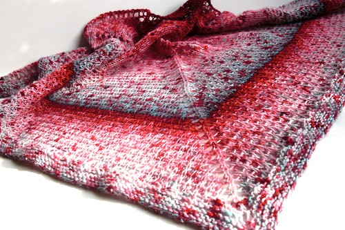 Triangular scarf