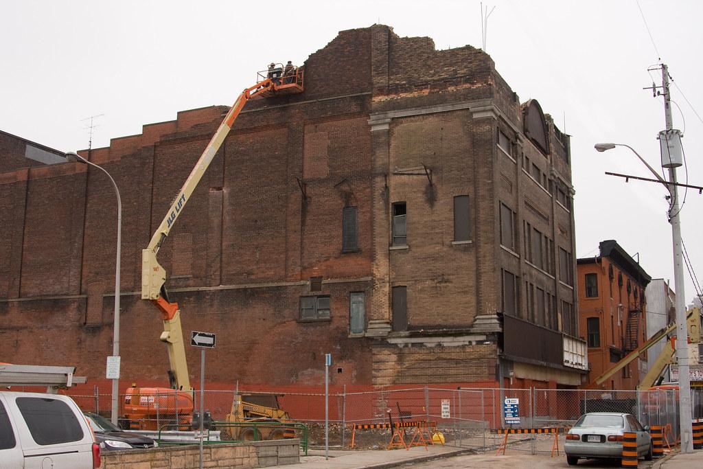 Lyric being demolished