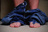 20/365 - Lookin' like a fool (Micah Taylor) Tags: old blue hairy carpet toes floor pants legs bare feel navy tan culture pop couch jeans project365 pantsontheground