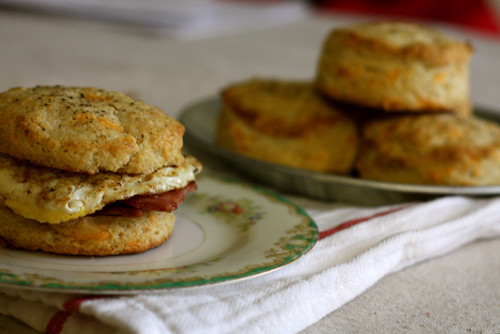 Cheddar Black Pepper Biscuits