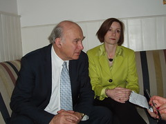 Vince Brunch 047 (Caledonian Lib Dems) Tags: shadow for with dr vince cable bridget business fox brunch local mp joined representatives vincebrunch