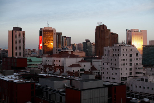 Early morning in Beijing