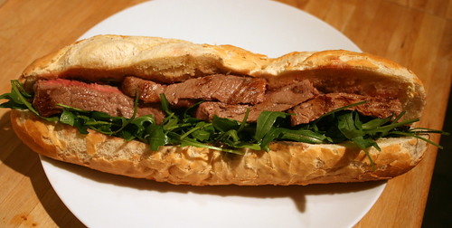 Steak Bagette