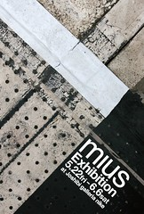 "2009 Solo exhibition ""mius"" DM"