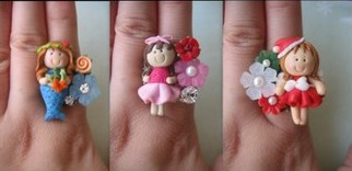 Puff Angel 2010 Ring Collection