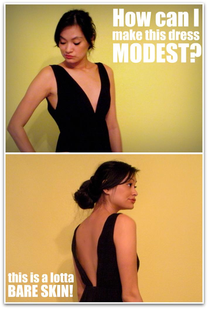i need modesty!