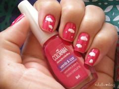 Unha da semana - Que cor é seu céu? (sem flash) (Mhilka ♥) Tags: art nail unhas esmalte decoradas