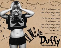 Duffy (roogue) Tags: urban stone photoshop carla stepping duffy monise