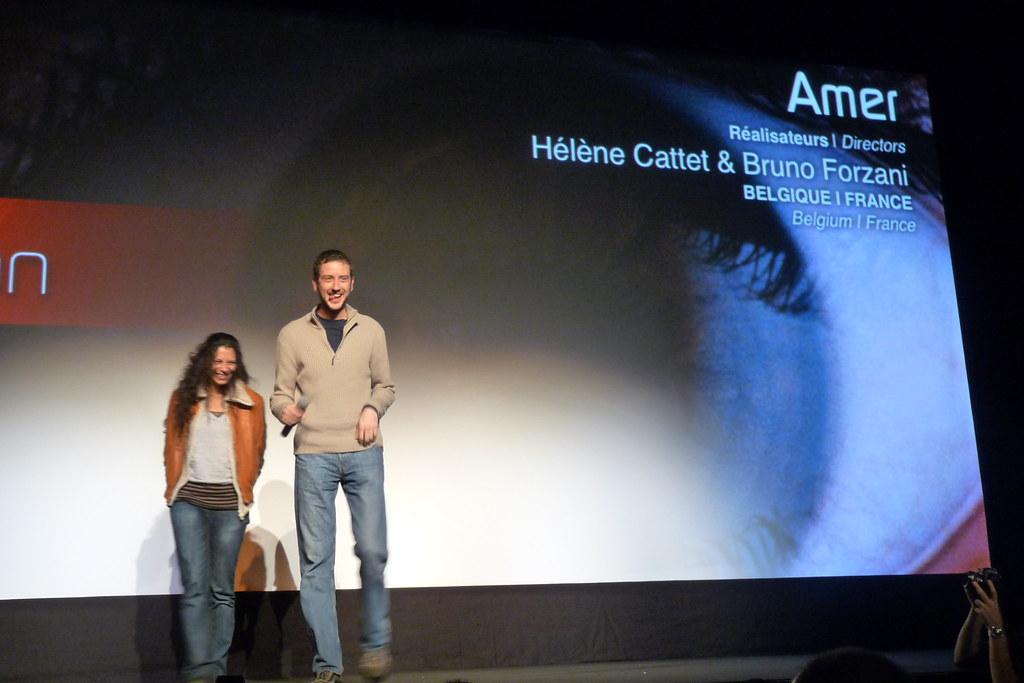Les réalisateurs du film 'Amer'
