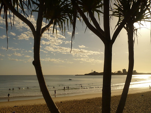 Sunrise at Mooloolaba Beach