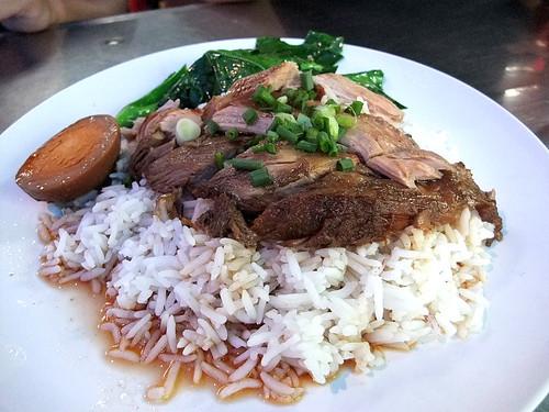 Pork Trotter Rice