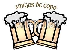 desenho foto canecas chopp amigo amizade cerveja