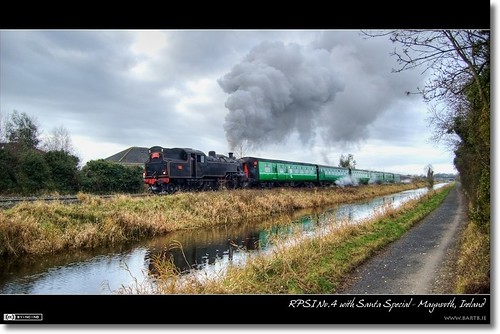 No.4 Steaming out of Maynooth