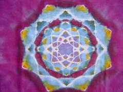 close-up of the mandala (asiadyer) Tags: fashion children tie tshirt mandala etsy tiedye dye tee shibori handdyed