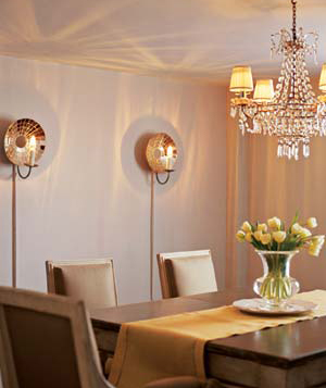 Variations of design ideas in the dining room lights