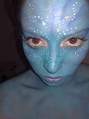 Avatar 1 (Emdallen) Tags: face painting facepainting paint avatar alien painter facepaint facepainter
