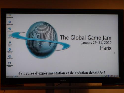 The Global Game Jam Paris 2010