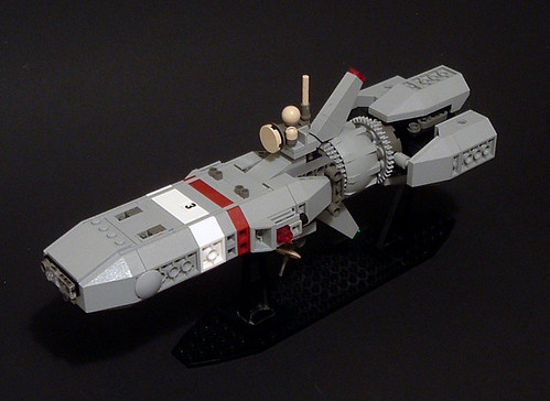 Lego Space Micro-Scale