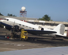 DC3 at SJU, San Juan Airport