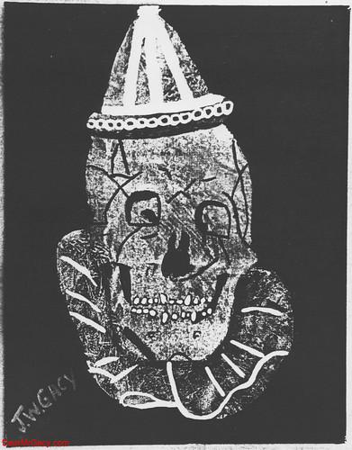 john wayne gacy clown. John Wayne Gacy - Skull Clown