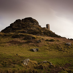 Brentor Church (Andy Brown (mrbuk1)) Tags: longexposure sky tower church grass rock architecture square countryside worship hill achievement devon granite remote isolation tavistock steep moorland brenttor nd110 gettingusedtogeorge hipasacallia
