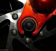 Give me a brake (4) (Rick & Bart) Tags: red white bike bicycle brake rood wit rem fiets smrgsbord botg rickbart bestminimalshot rickvink schijfrem