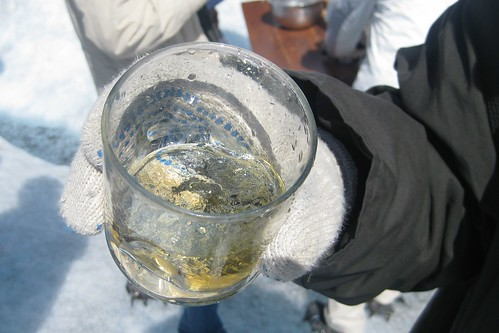 Whiskey with Glacier Ice