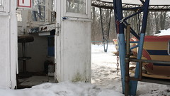 Abandoned Theme Park Spreepark Planterwald Berlin (LauraWedlake) Tags: park winter urban snow berlin abandoned film cup wheel movie graffiti hanna tea decay ferris theme rollercoaster spreepark 2011 planterwald hannamovie hannafilm