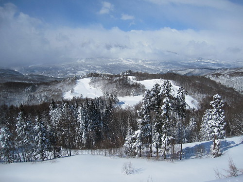 妙高山は雲で見えない