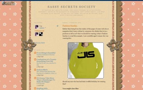 Sassy Secrets Society