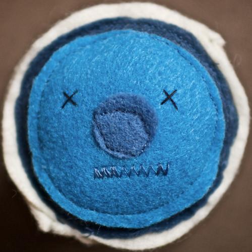 Blue Velvet Cupcake Plush