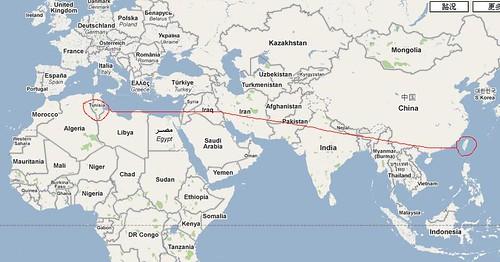 突尼西亞-map1