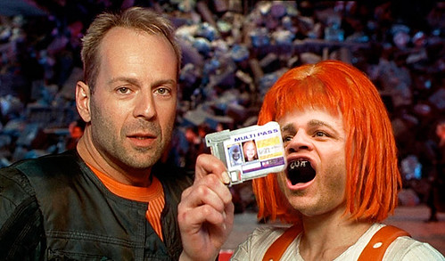 Bruce Willis Fifth Element Mila Josh Koscheck