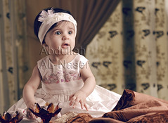 The Petit Princess (Abdullah AL-Naser) Tags: portrait house cute beautiful angel canon studio kid nice child kuwait softbox kuwaiti strobe 30d abdullah ef70200mm f28l alnaser mubarakalkabeer sabahalsalim