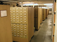 University of Michigan Library Card Catalog