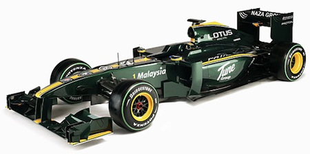 Lotus Cosworth 127